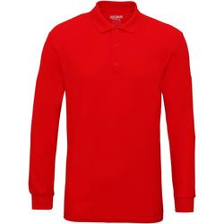 Textiel Heren Polo's lange mouwen Gildan 85900 Rood