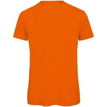 Textiel Heren T-shirts korte mouwen B And C Organic Oranje