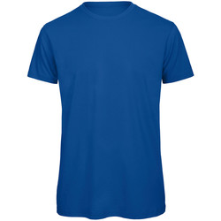 Textiel Heren T-shirts korte mouwen B And C Organic Koninklijk
