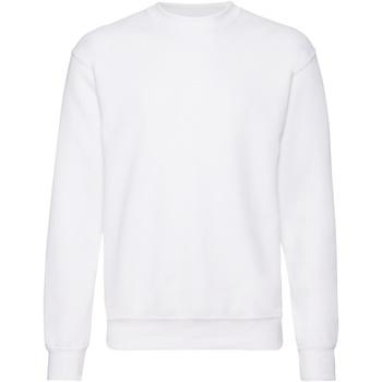 Textiel Heren Sweaters / Sweatshirts Fruit Of The Loom 62202 Wit