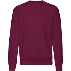 Textiel Heren Sweaters / Sweatshirts Fruit Of The Loom 62202 Bordeaux