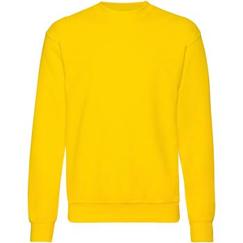 Textiel Heren Sweaters / Sweatshirts Fruit Of The Loom 62202 Zonnebloem Geel
