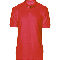 Textiel Heren Polo's korte mouwen Gildan Softstyle Rood