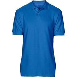 Textiel Heren Polo's korte mouwen Gildan Softstyle Koninklijk
