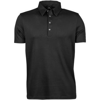 Textiel Heren Polo's korte mouwen Tee Jays TJ1440 Zwart