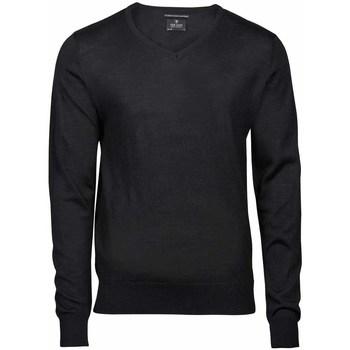 Textiel Heren Truien Tee Jays Knitted Zwart