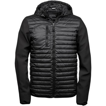 Textiel Heren Dons gevoerde jassen Tee Jays Hooded Zwart