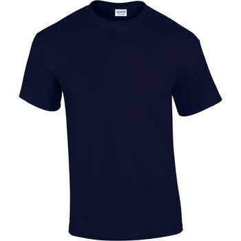 Textiel Heren T-shirts korte mouwen Gildan Ultra Marine
