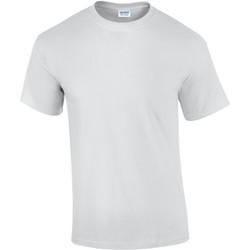 Textiel Heren T-shirts korte mouwen Gildan Ultra Wit