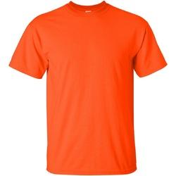 Textiel Heren T-shirts korte mouwen Gildan Ultra Oranje
