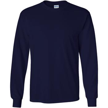 Textiel Heren T-shirts met lange mouwen Gildan Ultra Marine