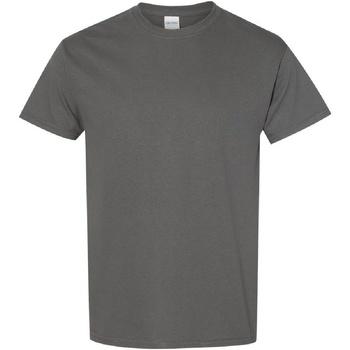 Textiel Heren T-shirts korte mouwen Gildan Heavy Houtskool