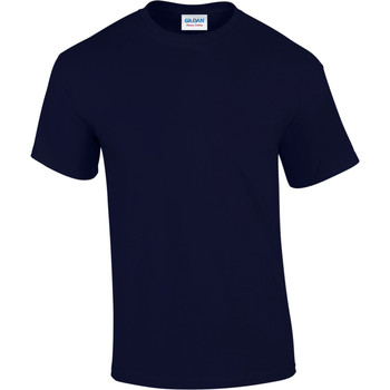 Textiel Heren T-shirts korte mouwen Gildan Heavy Marine