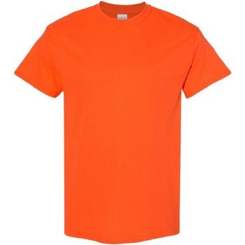 Textiel Heren T-shirts korte mouwen Gildan Heavy Oranje
