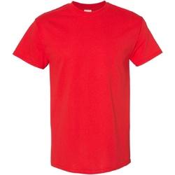 Textiel Heren T-shirts korte mouwen Gildan Heavy Rood