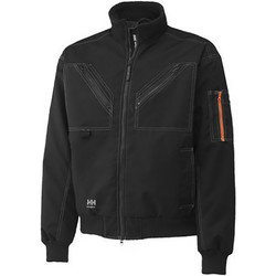 Textiel Heren Wind jackets Helly Hansen Work Zwart