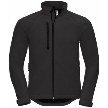 Textiel Heren Windjacken Russell Softshell Zwart