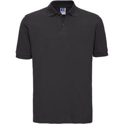 Textiel Heren Polo's korte mouwen Russell 569M Zwart