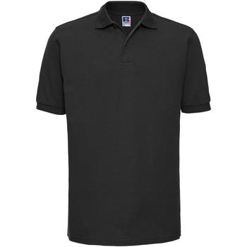 Textiel Heren Polo's korte mouwen Russell Ripple Zwart
