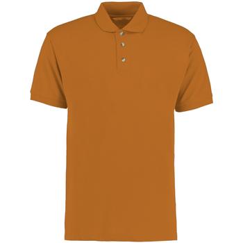 Textiel Heren Polo's korte mouwen Kustom Kit KK400 Oranje
