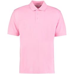 Textiel Heren Polo's korte mouwen Kustom Kit Klassic Roze