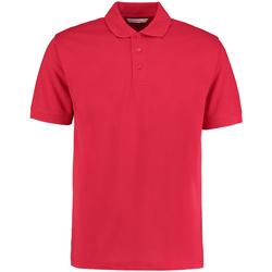 Textiel Heren Polo's korte mouwen Kustom Kit Klassic Rood