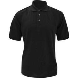 Textiel Heren Polo's korte mouwen Kustom Kit Chunky Zwart