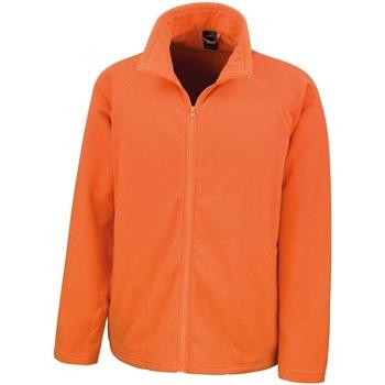 Textiel Heren Fleece Result Micron Oranje