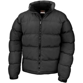 Textiel Heren Dons gevoerde jassen Result R181M Zwart