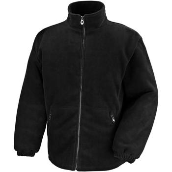 Textiel Heren Fleece Result Polartherm Zwart