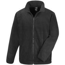 Textiel Heren Fleece Result Fashion Fit Zwart