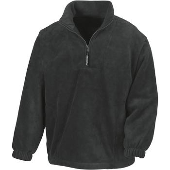 Textiel Heren Fleece Result Active Zwart