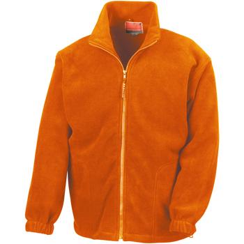 Textiel Heren Fleece Result Active Oranje