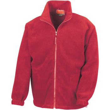 Textiel Heren Fleece Result Active Rood