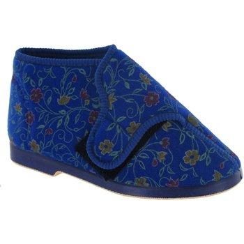 Schoenen Dames Sloffen Gbs Wide Fit Blauw