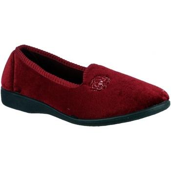 Schoenen Dames Sloffen Mirak Simone Bourgondië