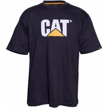 Textiel Heren T-shirts korte mouwen Caterpillar  Zwart