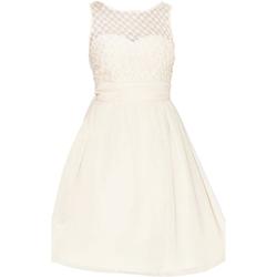 Textiel Dames Korte jurken Little Mistress  Naakt
