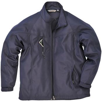 Textiel Heren Wind jackets Portwest Oregon Marine