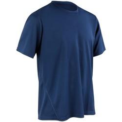 Textiel Heren T-shirts korte mouwen Spiro Performance Marine