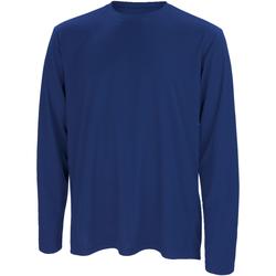 Textiel Heren T-shirts met lange mouwen Spiro Performance Marine
