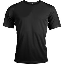 Textiel Heren T-shirts korte mouwen Kariban Proact Proact Zwart
