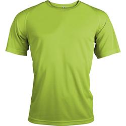 Textiel Heren T-shirts korte mouwen Kariban Proact Proact Kalk