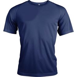 Textiel Heren T-shirts korte mouwen Kariban Proact Proact Marine