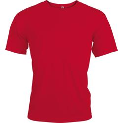 Textiel Heren T-shirts korte mouwen Kariban Proact Proact Rood