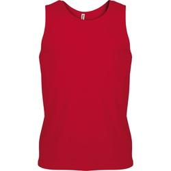Textiel Heren Mouwloze tops Kariban Proact Proact Rood