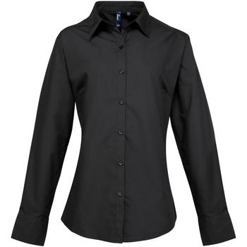 Textiel Dames Overhemden Premier Supreme Zwart