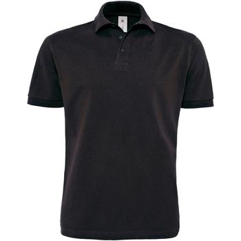 Textiel Heren Polo's korte mouwen B And C PU422 Zwart
