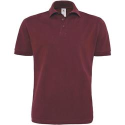 Textiel Heren Polo's korte mouwen B And C PU422 Bourgondië