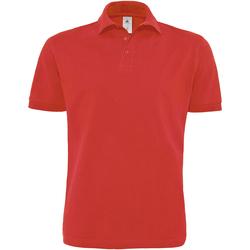 Textiel Heren Polo's korte mouwen B And C PU422 Rood